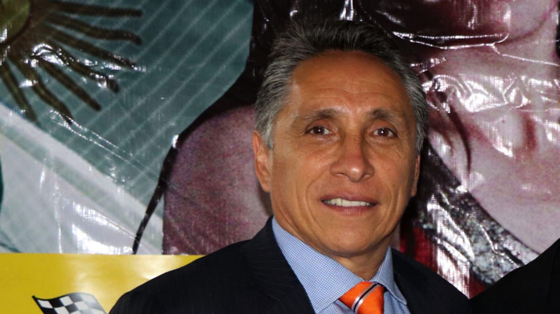 Manolo Negrete presentó una pelea de box hace unos días, ahora como alcalde de Coyoacán (Foto: Pablo Lozano/Zanfer)