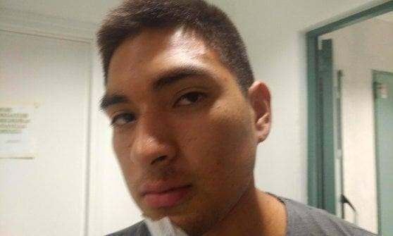 Ángel Micael Vargas Fernández tiene 20 años y vive en Europa hace más de una década