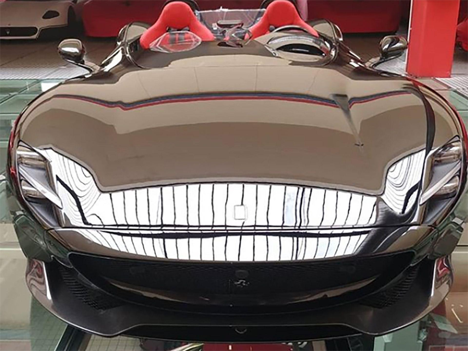 Este es el Ferrari Monza SP2 que Zlatan Ibrahimovic se compró como obsequio en su aniversario 38