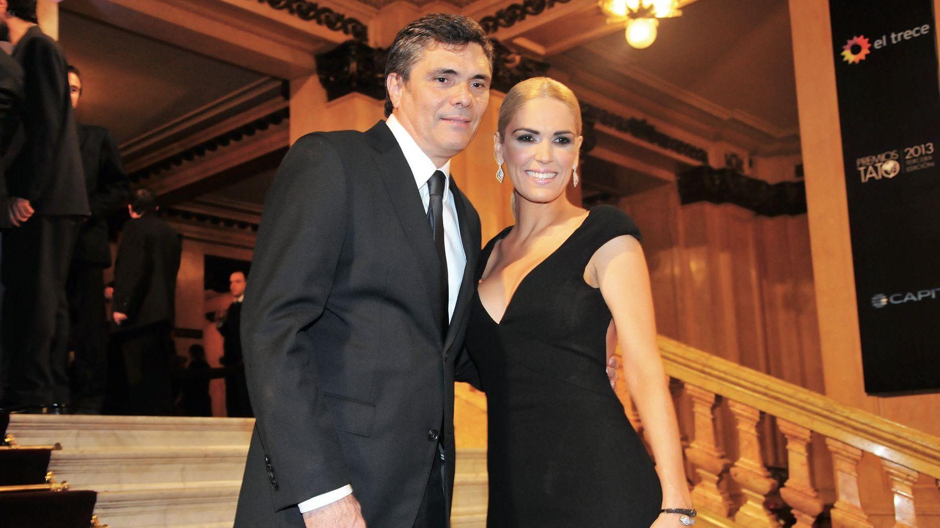 Alejandro Borensztein y Viviana Canosa (Foto: Archivo revista Gente)