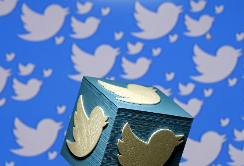 Imagen de archivo ilustrativa de un logo tridimensional de Twitter impreso en Zenica, Bosnia y Herzegovina el 26 de enero, 2016. REUTERS/Dado Ruvic/Ilustración/Archivo